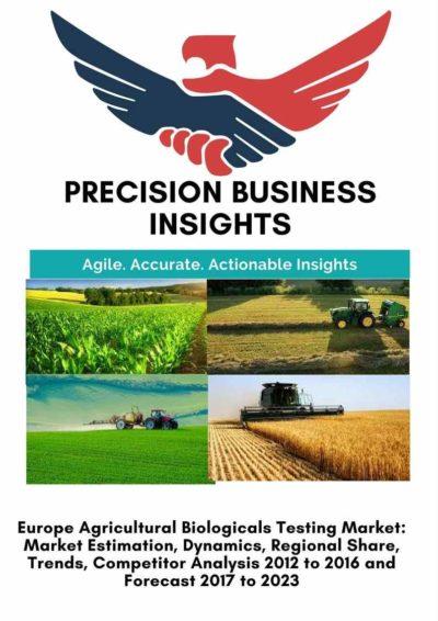 Europe Agricultural Biologicals Testing Market