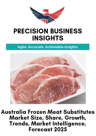 Australia Frozen Meat Substitutes Market
