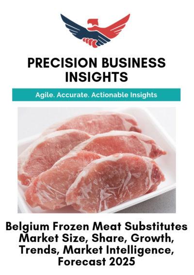 Belgium Frozen Meat Substitutes Market