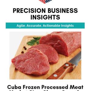 Cuba Frozen Processed Meat Market