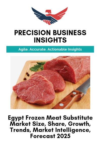 Egypt Frozen Meat Substitute Market