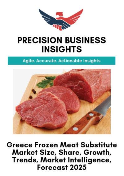 Greece Frozen Meat Substitute Market