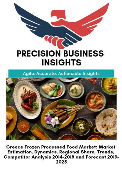 Greece Frozen Processed Food Market